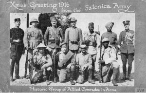 Salonika Allied Comrades in Arms (© IWM Q 67857)