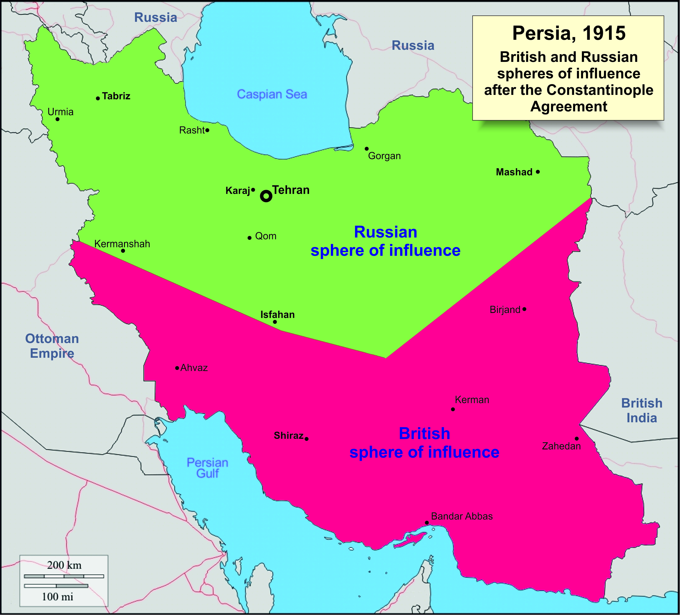Persia: Away From The Western Front